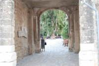 l'ingresso al Baglio Isonzo - 19 settembre 2007  - Scopello (925 clic)
