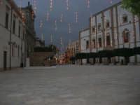 visita al centro storico - Piazza Carlo d'Aragona e Tagliavia: atmosfera natalizia  - 9 dicembre 2007  - Castelvetrano (832 clic)