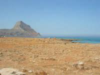 Golfo del Cofano: paesaggio brullo, mare spettacolare - 23 agosto 2008  - San vito lo capo (604 clic)