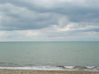 zona Magazzinazzi - il mare d'inverno - 22 febbraio 2009   - Alcamo marina (2253 clic)
