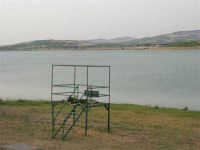 Lago Arancio - 10 agosto 2005  - Sambuca di sicilia (2163 clic)