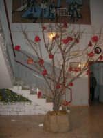 un particolare albero di Natale nell'androne dell'Istituto Comprensivo A. Manzoni - 20 dicembre 2007  - Buseto palizzolo (1668 clic)