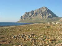 Golfo di Bonagia: lungomare e monte Cofano - 27 aprile 2008   - Cornino (854 clic)