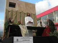 Processione della Via Crucis con gruppi statuari viventi - 5 aprile 2009   - Buseto palizzolo (1530 clic)