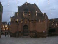 visita al centro storico - Chiesa Madre, dedicata alla Madonna Assunta, in Piazza Carlo d'Aragona e Tagliavia: atmosfera natalizia  - 9 dicembre 2007  - Castelvetrano (850 clic)