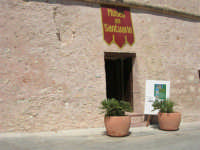l'ingresso al Museo del Santuario - 30 agosto 2008  - San vito lo capo (640 clic)