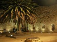 Castello arabo normanno - particolare del cortile interno - 2 gennaio 2009   - Salemi (2173 clic)
