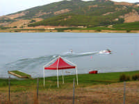 Lago Arancio - 10 agosto 2005  - Sambuca di sicilia (2040 clic)