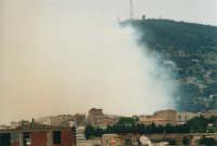 l'incendio sul monte Bonifato del 10 giugno 2001  - Alcamo (822 clic)