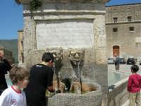 la fontana al centro della piazza, costruita nel 1608 - 23 aprile 2006   - Palazzo adriano (1295 clic)