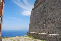 Capo San Vito - vista sul golfo di Castellammare dalla Torre dell'Usciere, detta Sciere (torre costiera di avvistamento per la difesa dai pirati) - 10 maggio 2009  - San vito lo capo (1702 clic)