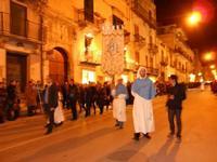 festa dell'Immacolata: la processione nel corso VI Aprile - 8 dicembre 2009  - Alcamo (2211 clic)