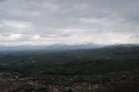 neve sui monti del palermitano - vista dal monte Bonifato - 15 febbraio 2009   - Alcamo (2735 clic)