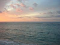 Lungomare Dante Alighieri - il mare al tramonto - 13 marzo 2009   - Trapani (2859 clic)