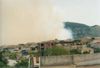 l'incendio sul monte Bonifato del 10 giugno 2001  - Alcamo (945 clic)