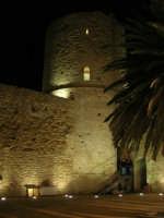 Castello arabo normanno - particolare del cortile interno - 2 gennaio 2009   - Salemi (2341 clic)