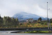 Monte Bonifato innevato - 14 febbraio 2009   - Alcamo (2500 clic)