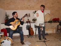 Concerto NAPOLINCANTO - Domenico De Luca (chitarra solista e percussione), Gianni Aversano (voce e chitarra) - 10 dicembre 2009   - Alcamo (2588 clic)