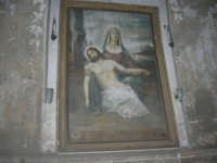 visita al centro storico - quadro all'interno della galleria che porta alla Piazza Carlo d'Aragona e Tagliavia - 9 dicembre 2007  - Castelvetrano (848 clic)