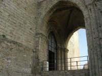 Duomo (sec. XIV) - particolare - 1 maggio 2008  - Erice (904 clic)