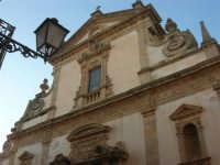 Chiesa dell'ex Collegio dei Gesuiti - particolare - 11 ottobre 2007   - Salemi (3206 clic)