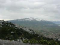 neve sul monte Bonifato e monti innevati di Castellammare - 15 febbraio 2009     - Alcamo (3185 clic)