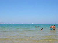 zona Tonnara - regata la Route du Jasmin (Rotta del Gelsomino) edizione 2008 - CASTELLAMMARE CUP (regata nel Golfo di Castellammare) - 13 agosto 2008   - Alcamo marina (1985 clic)