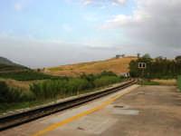 dal piazzale dell'ex stazione ferroviaria: panorama - 1 giugno 2008  - Segesta (1457 clic)