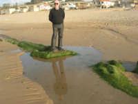 spiaggia di levante - riflessi - 1 marzo 2009  - Balestrate (4070 clic)