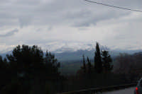 neve sui monti del palermitano - vista dal monte Bonifato - 15 febbraio 2009   - Alcamo (2426 clic)