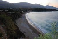 la baia di Guidaloca a sera - 19 settembre 2007  - Castellammare del golfo (581 clic)