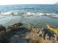 Golfo di Bonagia: scogli e mare - 27 aprile 2008   - Cornino (922 clic)