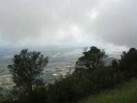 panorama con foschia dal monte Erice - Trapani, le saline - 1 maggio 2009   - Erice (2147 clic)