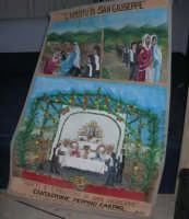 Il Cantastorie PEPPINO CASTRO di Dattilo (TP) presenta l'arte di raccontare cantando LA SICILIA TRA STORIE MITO E LEGGENDE POPOLARI - uno dei cartelloni - Istituto Comprensivo G. Pascoli - 4 - 25 gennaio 2008  - Castellammare del golfo (969 clic)