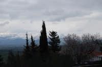 neve sui monti del palermitano - vista dal monte Bonifato - 15 febbraio 2009   - Alcamo (2434 clic)