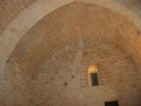 Castello arabo normanno - particolare dell'interno - 2 gennaio 2009   - Salemi (2509 clic)