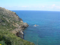 Golfo di Castellammare - la costa tra Guidaloca e Castellammare del Golfo - 5 aprile 2009   - Castellammare del golfo (918 clic)