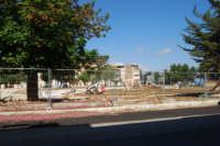 Piazza Falcone e Borsellino - lavori di ristrutturazione - 20 luglio 2008  - Alcamo (950 clic)