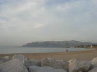 la spiaggia lato est e golfo di Castellammare - 24 maggio 2008  - Balestrate (1350 clic)