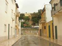 Zona Tonnara - la frana sulla collina - 8 febbraio 2009  - Alcamo marina (2819 clic)