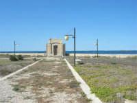 la cappella del Villino Nasi - 6 settembre 2007  - Trapani (942 clic)
