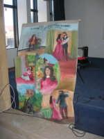 Il Cantastorie PEPPINO CASTRO di Dattilo (TP) presenta l'arte di raccontare cantando LA SICILIA TRA STORIE MITO E LEGGENDE POPOLARI - uno dei cartelloni - Istituto Comprensivo G. Pascoli - 5 - 25 gennaio 2008  - Castellammare del golfo (1342 clic)
