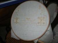 Cene di San Giuseppe - mostra di manufatti - pizzi e ricami - 15 marzo 2009  - Salemi (2587 clic)