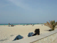 relax in spiaggia - 25 aprile 2006   - San vito lo capo (3116 clic)