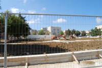 Piazza Falcone e Borsellino - lavori di ristrutturazione - 20 luglio 2008  - Alcamo (740 clic)