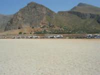 Golfo del Cofano - spiaggia e monti - 8 agosto 2008   - San vito lo capo (509 clic)