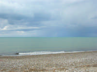 zona Magazzinazzi - il mare d'inverno - 22 febbraio 2009   - Alcamo marina (2946 clic)
