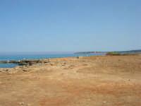 Golfo del Cofano: paesaggio brullo, mare spettacolare - 23 agosto 2008  - San vito lo capo (465 clic)