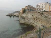 Spiaggia La Praiola e case sul mare - 23 settembre 2007  - Terrasini (1286 clic)