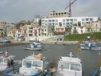 il paese visto dal porto - 1 marzo 2009  - Marinella di selinunte (1714 clic)